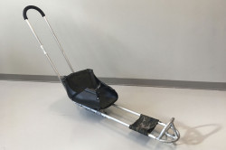 ice sled with push bar